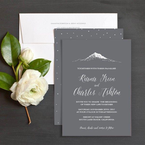 Wedding Invitations Mountain Theme | Best 25 Mountain Wedding Invitations Ideas On Pinterest Outdoor