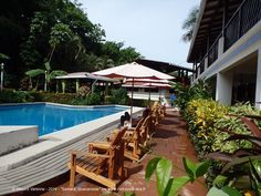 J'ai une bonne adresse à partager avec vous pour #Sámara : l´hôtel Samara Pacific Lodge, tenu par Lionel et Clémence. Il est vraiment très agréable, avec une très belle piscine (où je me suis bien amusé) et avec une nature magnifique tout autour de l'hôtel, ce qui permet pendant que vous êtes dans la piscine ou sur les transats de profiter des singes hurleurs ou des oiseaux ; c'est un grand avantage de l'hôtel :) http://www.vert-costa-rica.fr/Samara-Pacific-Lodge