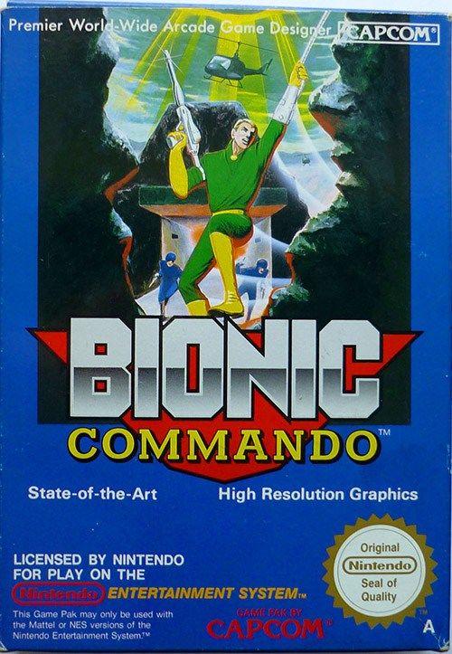 ▷ Play Bionic Commando on Nintendo NES | Video games | Nes games