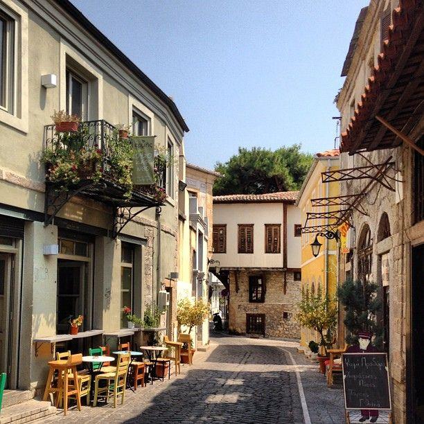 https://flic.kr/p/dMACiz | One of the nice streets in Xanthi, Greece | One of the nice streets in Xanthi, Greece