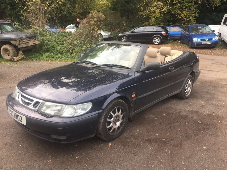 Click the link to see more pics and details of this 1999 saab 9-3 convertible 2.0 turbo auto