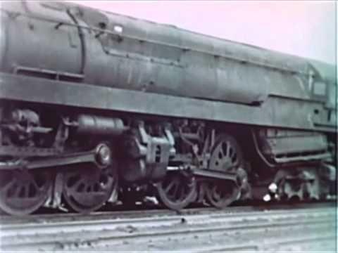 """T1"" 4-4-4-4 Duplex Steam Locomotives - 1940's Pennsylvania Railroad Ste..."