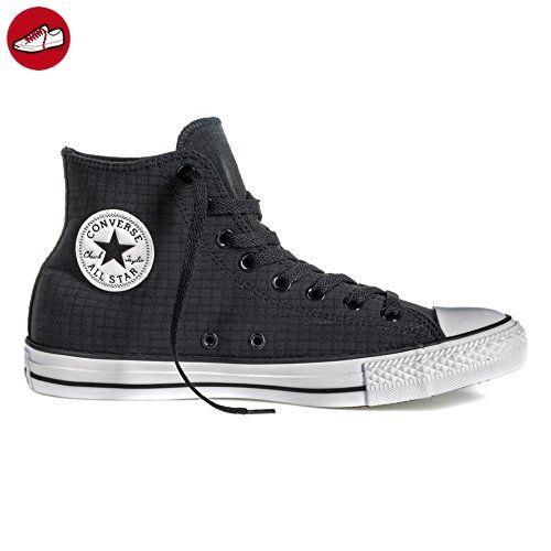 Converse - CTAS HI Black/White/Black Chuck Taylor All Star HI Schuhe Chucks Schuhe Herren Damen Größe 36 (*Partner-Link)
