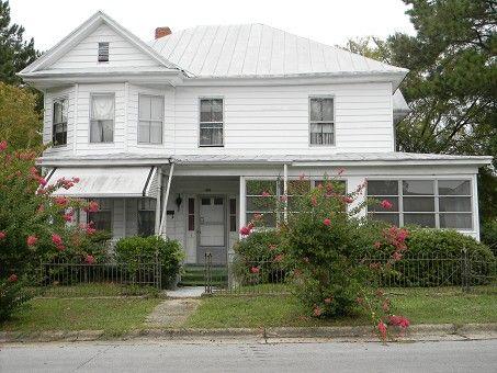 Historic Queen Anne Home Williamston North Carolina