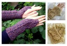 Crochet Fingerless Gloves Free Patterns