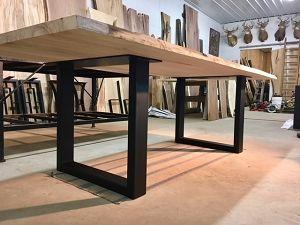 Steel Sofa Table Base Ohiowoodlands Metal Console Table Legs In 2020 Steel Dining Table Metal Base Dining Table Dining Table Legs
