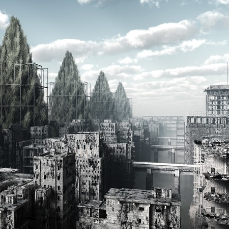 Gorgeous and haunting post-apocalyptic images from Giacomo Costa.