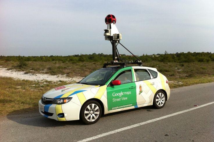 Автомобиль, снимающий Google Street View, попал в ДТП на одной из автострад штата Арканзас, США.