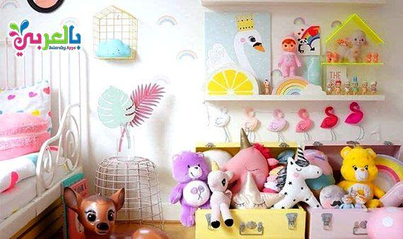 افكار مبتكرة ترتيب غرف النوم للبنات تزيين غرف البنات يدويا Girly Room Rainbow Girls Room Teenage Girl Bedroom Diy