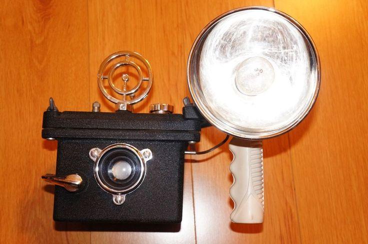 Aqua-Cam Mark I underwater camera housing. Pre-dates Calypso Nikonos. Collector