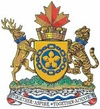 The Coat of Arms of Sister City Hamilton, Ontario, Canada