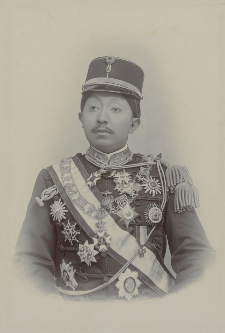 Portrait of Pakubuwono X, tenth Susuhunan (ruler of Surakarta).