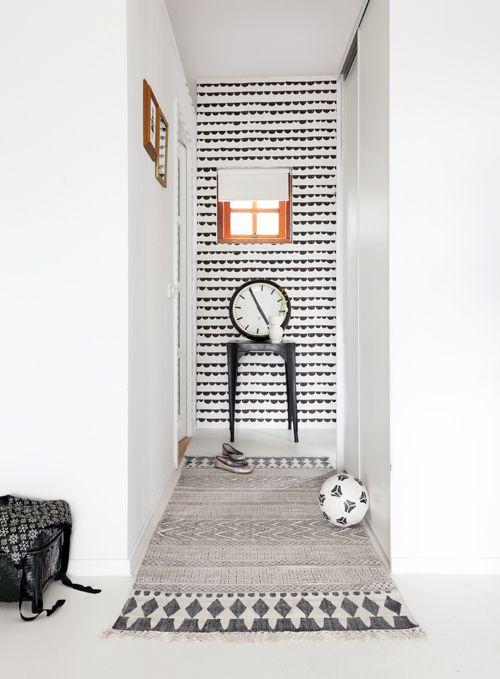 ferm Living - Half Moon - wallpaper  buy: http://www.binnenpretwonen.nl/component/virtuemart/behang-pret/half-moon-detail?Itemid=0  photo via: vtwonen