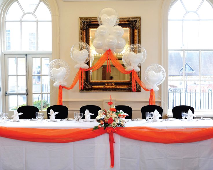 Cake Table Decorations With Balloons : 22 best balloon head/cake table images on Pinterest