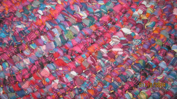 100 Best Knotted Rag Rugs Images On Pinterest Carpets