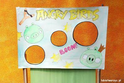 """Ciekawa alternatywa dla popularnej gry komputerowej - czyli Angry Birds w wersji """"ogródkowej"""" ;)   #angrybird #angrybirds #gra #zabawa #rzutki #diy #zróbtosam #handmade #craft #crafts #zielonaświnia #rzucaniepiłką #piłka #poradnik #tutorial #jakzrobić #howto #instrukcja #instruction"""
