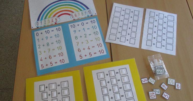 Escuela con Vida: El arco iris del 10
