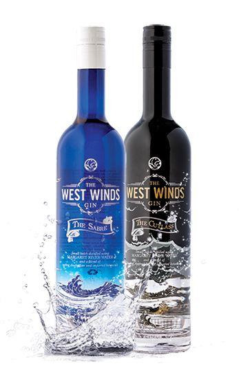 The West Winds Gins are gin lovers gins, set apart by utilising native botanicals like wattle seed and bush tomato.