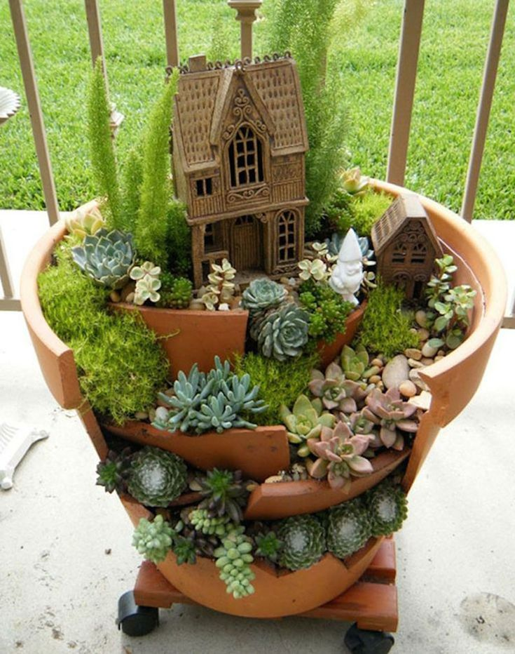 How To Make Fairy Garden Houses Svswkysk