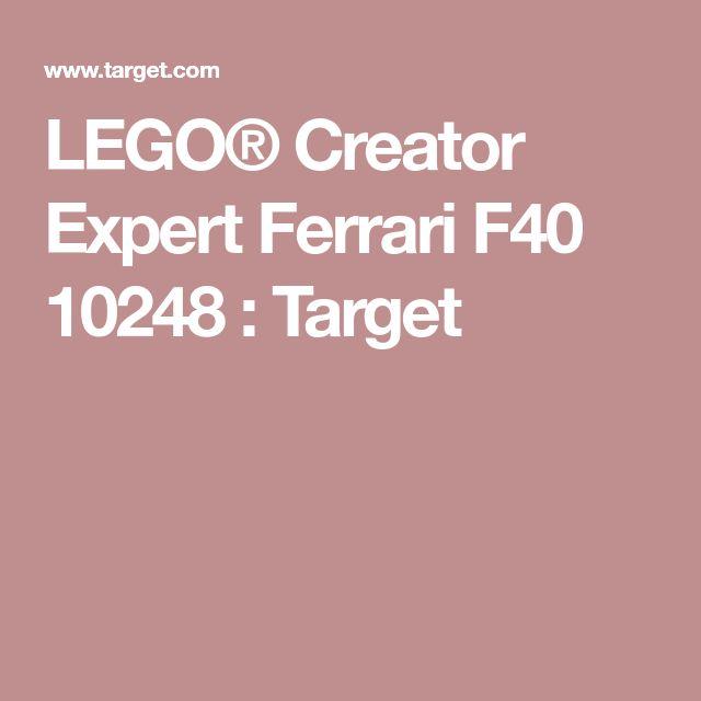 LEGO® Creator Expert Ferrari F40 10248 : Target