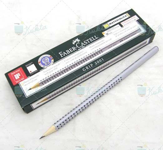 Faber Castell 2001 Grip 2001 háromszögletű grafitceruza. HB ceruza. Speciális kialakításának köszönhetően kevésbé töredeznek, így könnyen hegyezhetőek. Diákok kedvenc ceruzája.