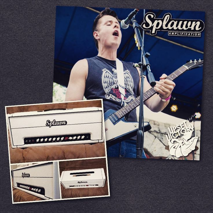 Happy to announce another great partnership for TUV. Our very own Frank Hammonds will be utilizing Splawn Amplifiers! If you're a guitarist in need of an amazing amp look no further than Splawn Amplifiers - great people and great products. Check out his new custom amp.  #splawn #splawnquickrod #amplifiers #amps #guitaramp #musicians #guitarist #Gibson #theupsetvictory #live #concert #band #guitargeek #guitarrig #epic