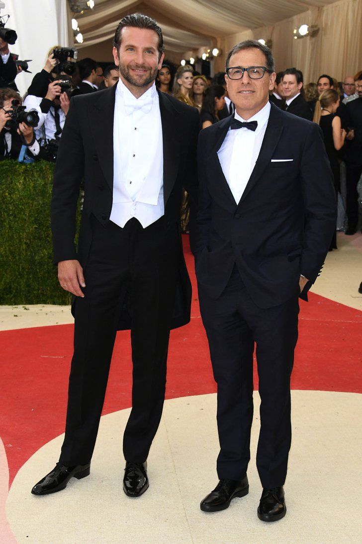 Pin for Later: Feast Your Eyes on All the Handsome Celebrity Guys at the Met Gala Bradley Cooper and David O. Russell