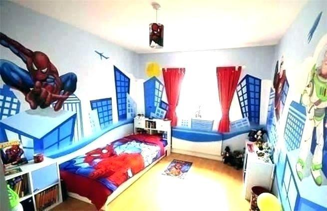 Superheroes Bedroom Decor Spiderman Bedroom Spiderman Room Super Hero Bedroom Decor