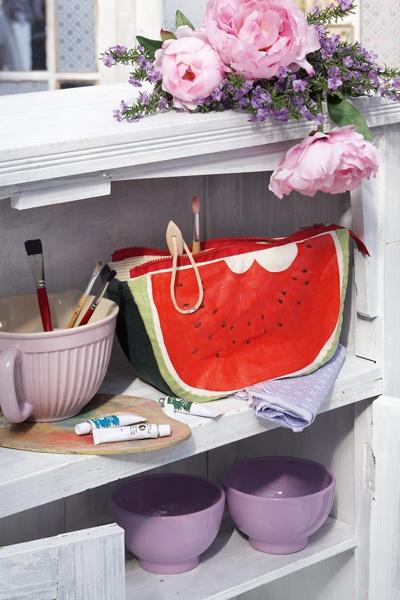 MELOUN | MELON || Taška na kreativní potřeby | Bag for your creative needs