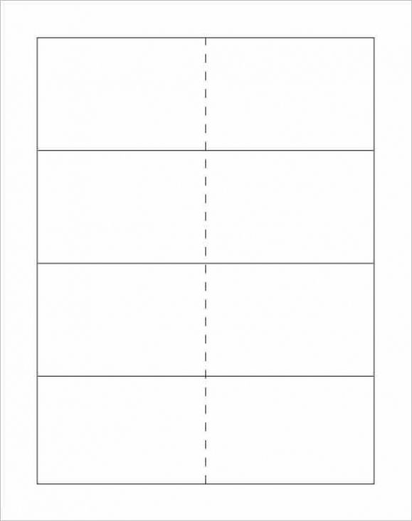 Clue Card Template Flash Card Template Note Card Template Printable Flash Cards