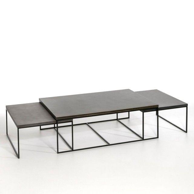 table basse auralda grande taille en 2019 tables bureaux. Black Bedroom Furniture Sets. Home Design Ideas