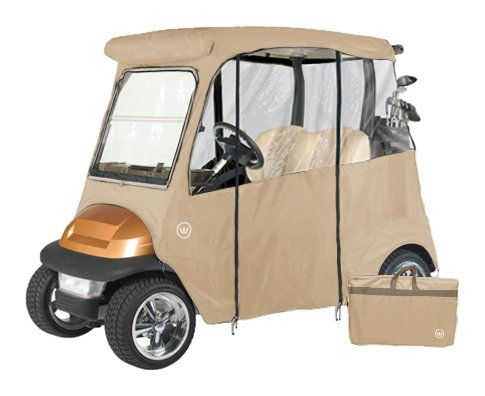 Best Golf Bags   GreenLine Club Car Precedent 2 Passenger Drivable Golf Cart Enclosure  Bunker Sand >>> Be sure to check out this awesome product. Note:It is Affiliate Link to Amazon.