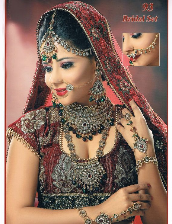 SUPER SALE With FREE Shipping Kundan Stone Studded by BeautyShop21, $220.00