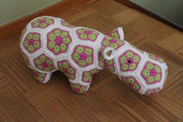 african flower hippo - Google keresés