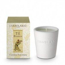 Fehér tea IllatgyertyaFehér tea  illattal.  - Rendeld meg online! Parfüm és kozmetikum család az olasz Lerbolario naturkozmetikumoktól