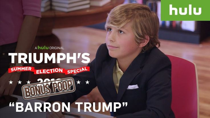 Fake Barron Trump Book Signing Fools Trump Supporters • Triumph's Summer...