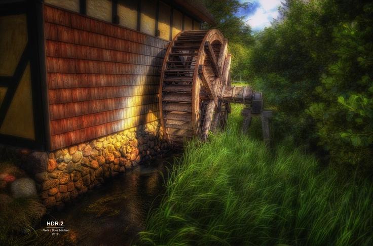 Watermill at Tuta Vallis