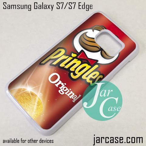 Pringles Potato Original Phone Case for Samsung Galaxy S7 & S7 Edge