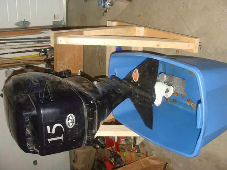 DIY Outboard motor stand pictures and plans | BOAT STUFF ...