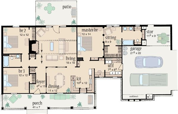 Pin By Cindy Scheepstra On Retirement House Plans Pinterest