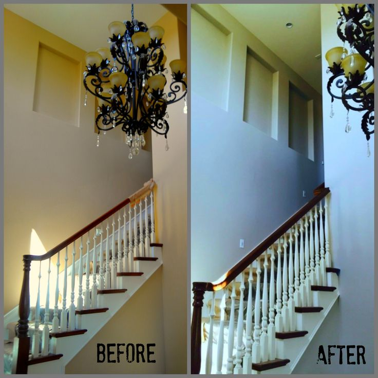 31 best images about before after painting on pinterest - Sherwin williams interior paint finishes ...