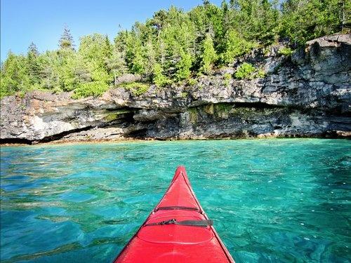 Kayaking Georgian Bay