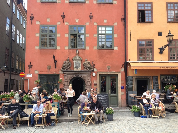 #GamlaStan (the Old Town), is one of #Europe's largest and best preserved #medieval city centers. It is one of #Stockholm's foremost attractions, filled with historical remnants, restaurants, cafés and shopping. #VisitSweden
