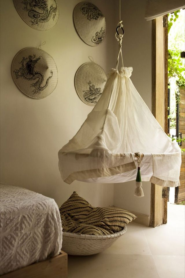 Suspended Baby Cradles Are Modern Baby Room Furniture Designs Inspired By  Traditional Cradles