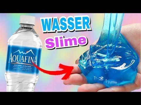 Schleim Aus Wasser Ohne Kleber Wasser Slime I Missniice Youtube