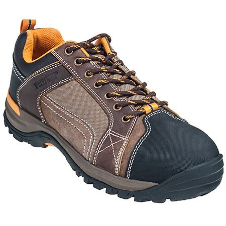 Wolverine Shoes: Men's 10240 Brown Chisel Steel Toe Work Shoes #CarharttClothing #DickiesWorkwear #WolverineBoots #TimberlandProBoots #WolverineSteelToeBoots #SteelToeShoes #WorkBoots #CarharttJackets #WranglerJeans #CarhartBibOveralls #CarharttPants