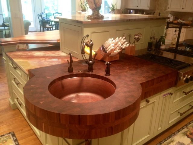 20 Incredible Wooden Kitchen Countertops Kitchen