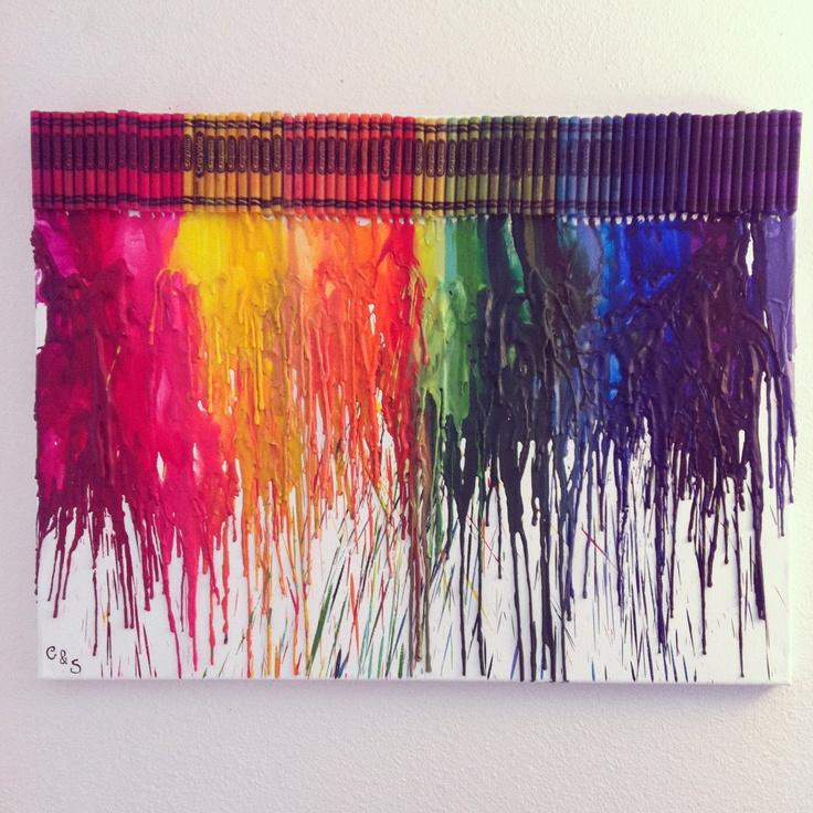 Melted Crayola Artwork Http://www.unitednow.com/search.aspx