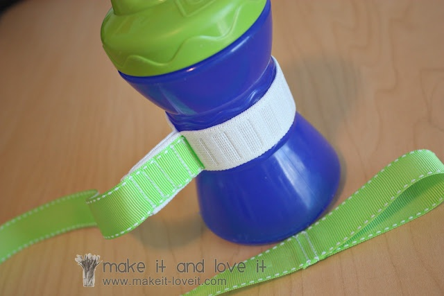 Sippy Cup Leash: Re-visited & Improved | Make It and Love It - Made one in five minutes flat.