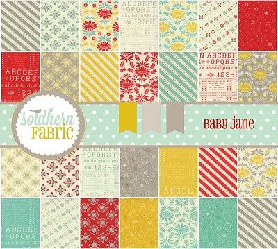 southernfabric.com,Baby Jane - Layer Cake by Cosmo Cricket for Moda Fabrics (37060LC)  @Southern Fabric